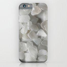 White on White on White iPhone Case