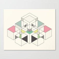 GEOMETRIC SPACE Canvas Print
