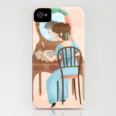 Jane Austen Slim Case iPhone (4, 4s)