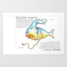 Good Fish Bad Fish Art Print