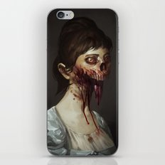 Old Zombie Portrait iPhone & iPod Skin