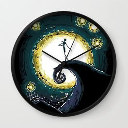 Jack & the Moon Wall Clock