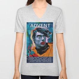 Advent Poster English International (Ad-vientu, dir. Roberto F. Canuto & Xu Xiaoxi, 2016) Unisex V-Neck