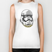 storm trooper Biker Tanks featuring Storm Trooper by KODYMASON