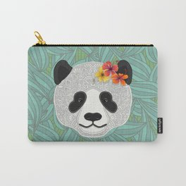 Tropical Panda Carry-All Pouch