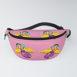 Mexican Angels Hot Pink Fanny Pack