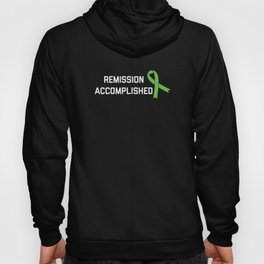Lymphoma Cancer Awareness Shirt - Remission Accomp Hoody