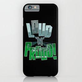 Saudi Arabia Pride Loud N Proud iPhone Case
