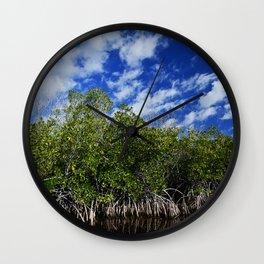 mangrove Wall Clock