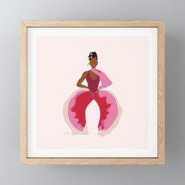 Janelle Framed Mini Art Print