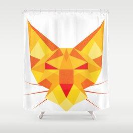 Geometricat Shower Curtain