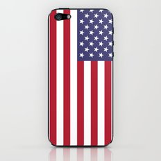 National flag of USA - Authentic G-spec 10:19 scale & color iPhone & iPod Skin