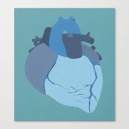 Melancholy Heart Canvas Print