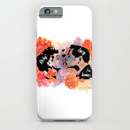 I Love Lucy - Lucy and Ricky iPhone Case