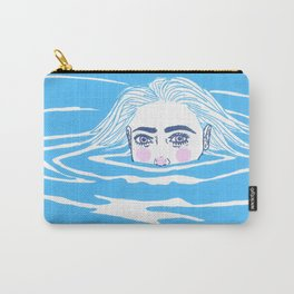 A Girl in the Water Carry-All Pouch