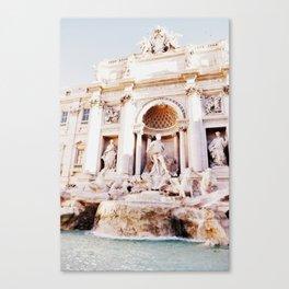 Poseidon's Fountain Canvas Print