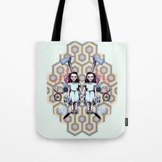 Overlook Twins Tote Bag
