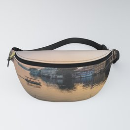 Sunset of Pichola lake in Udaipur Fanny Pack