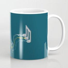 Plug in the music Coffee Mug