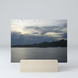 Dusk in Samoa DPG150414a Mini Art Print