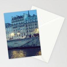 Paris by Night: Ile de la Cite Stationery Cards