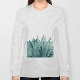 Agave Vibes #8 #tropical #decor #art #society6 Long Sleeve T-shirt