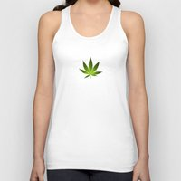 weed Tank Tops featuring Weed by Spyck