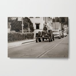 The Morning Commute Metal Print