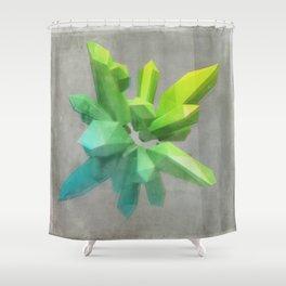 Anaglyph // Kryptonite Shower Curtain