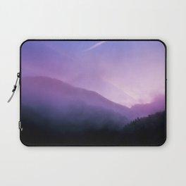 Morning Fog - Landscape Photography Laptop Sleeve