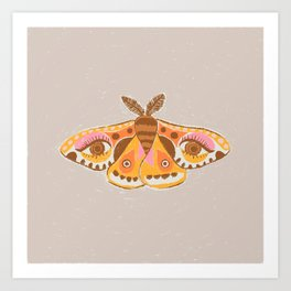 Moth Eyes Art Print