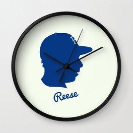 Pee Wee Reese Wall Clock