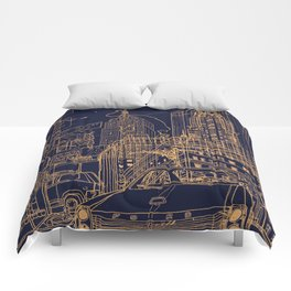 New York! Night Comforters