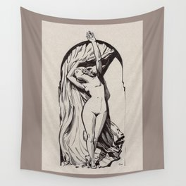 Reims' Lady Wall Tapestry