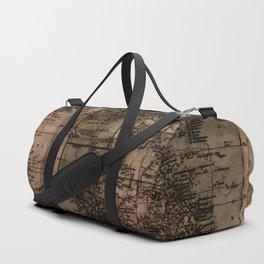 Vintage Map of Australia Duffle Bag