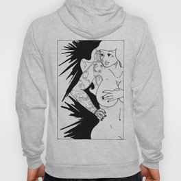 The Pin-Up With Tatoo Hoody