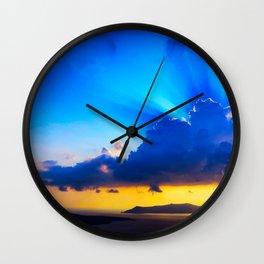 Angel sky Wall Clock