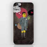 beast iPhone & iPod Skins featuring Beast by jnk2007