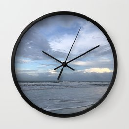 Jacksonville Beach Wall Clock