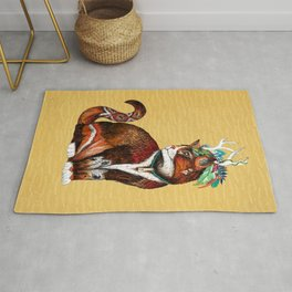 Wizard Cat Rug