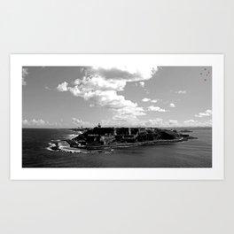 Castillo San Felipe del Morro Art Print