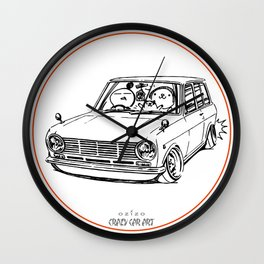 Crazy Car Art 0198 Wall Clock