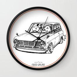 Crazy Car Art 0198 Wall Clock