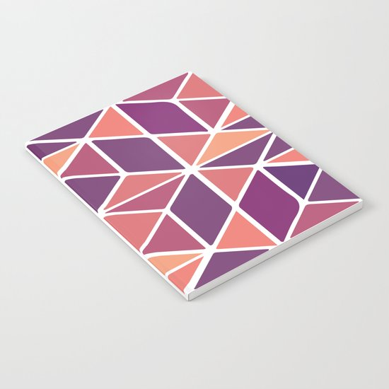 Purple Mosaic Notebook