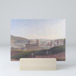 View Of Salzburg 1831 by Rudolf von Alt   Reproduction Mini Art Print