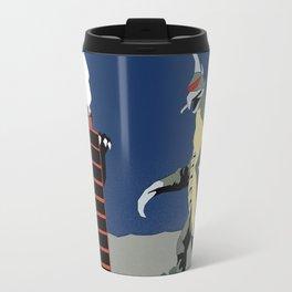 Godzilla vs Gigan Travel Mug