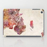 copenhagen iPad Cases featuring Copenhagen by MapMapMaps.Watercolors