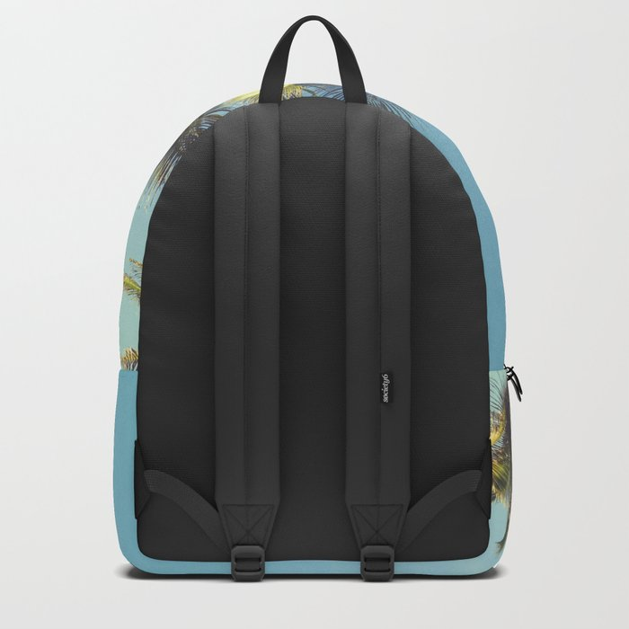 Tropical Palm Trees Backpack