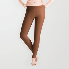 Brown Sugar - solid color Leggings