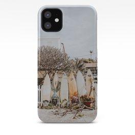 lets surf xxviii / australia iPhone Case